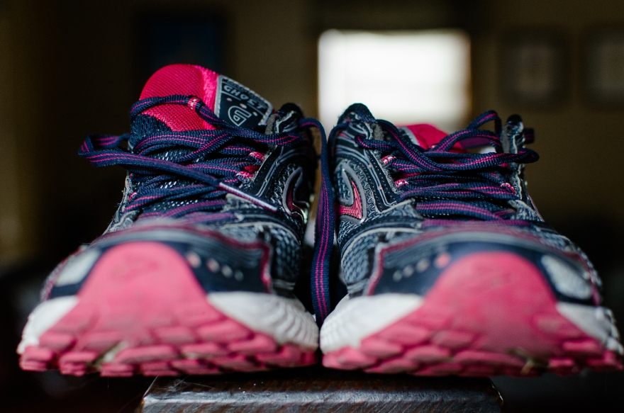 My third pair of running shoes . . . quite possibly my favorite